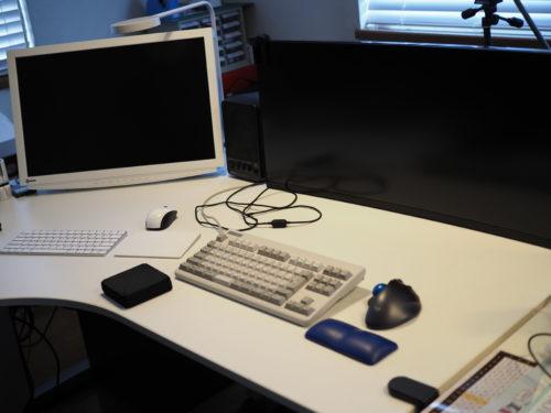 自宅のパソコン部屋(勉強部屋)