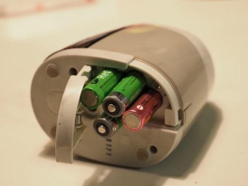 ビュートンジャパン BV-6 (電池部の写真)