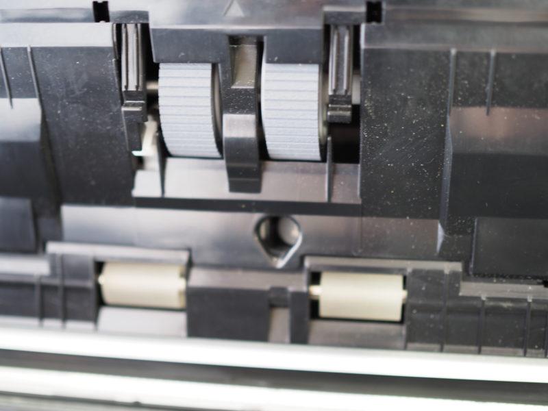 iX1500のフィーダー部分