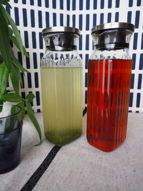 ルイボスティーと緑茶