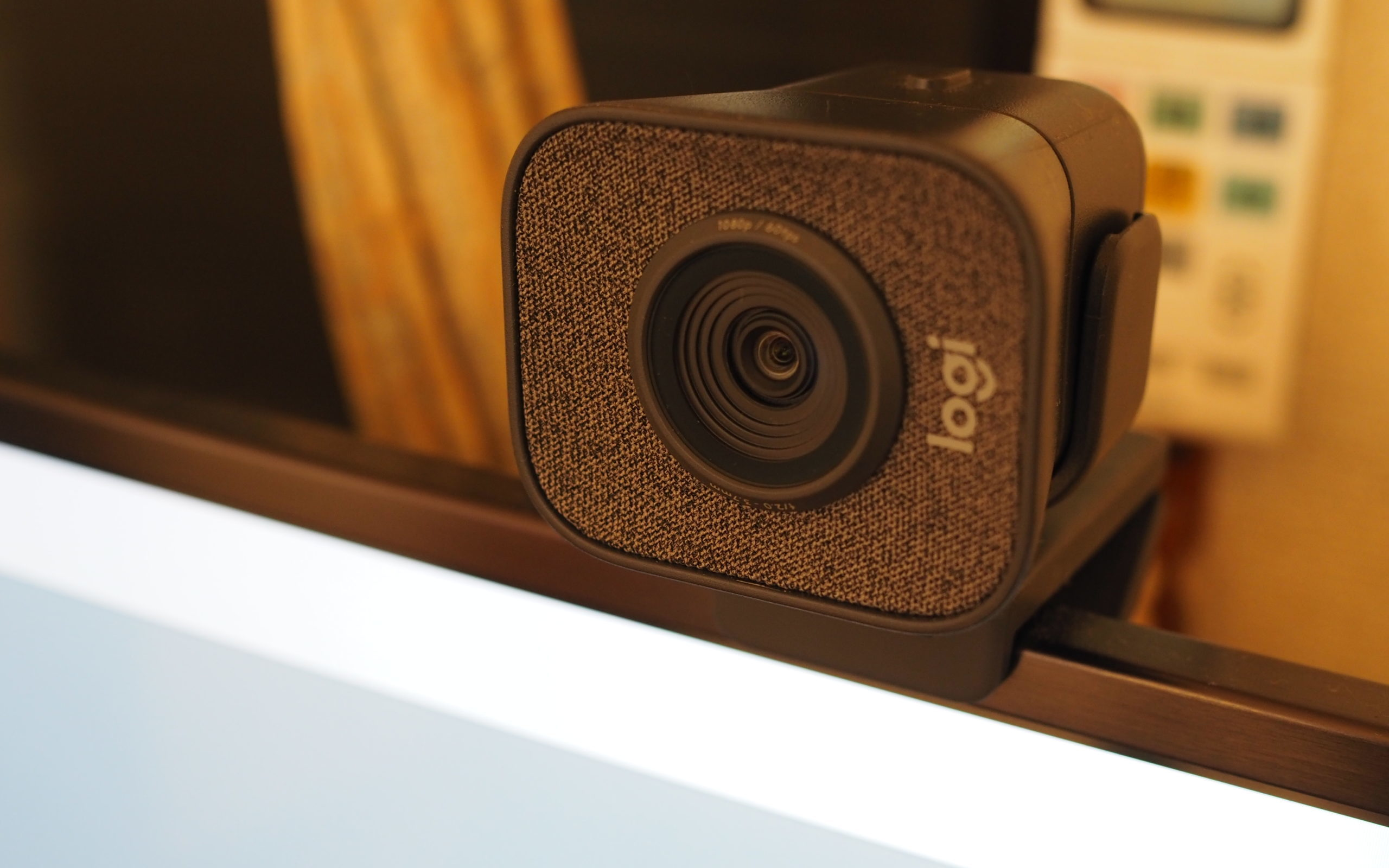 logicoolのwebカメラ