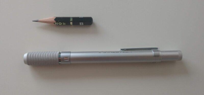こんなに小さい鉛筆が