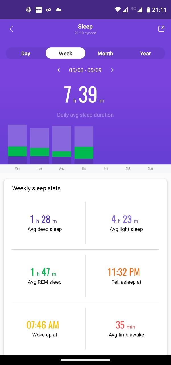 sleep-data(week)