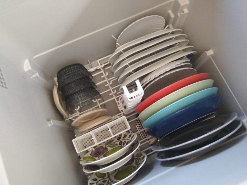 平皿がたくさん置ける